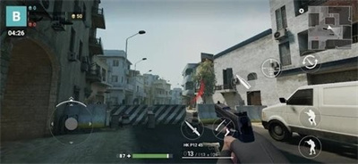 现代枪射击战争